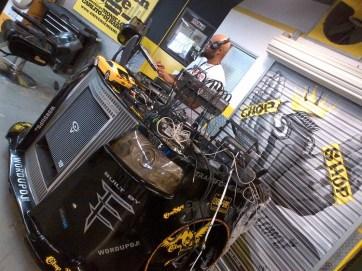 Chop Shop Barber Shop DJ Booth