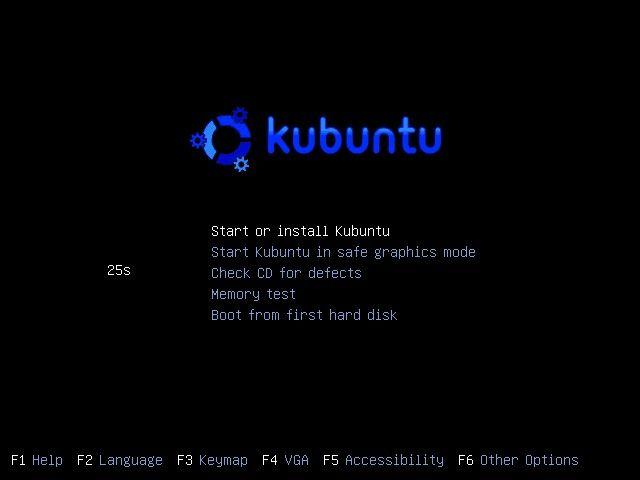 Kubuntu Live Disc