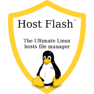 Host Flash™ the Ultimate Linux Hosts File Manager