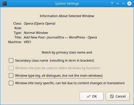 Restore the Window Title Bar to Opera 55 CSD · JournalXtra