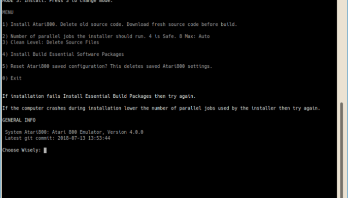 ZEsarUX ZX Spectrum Emulator Installer for Linux · JournalXtra