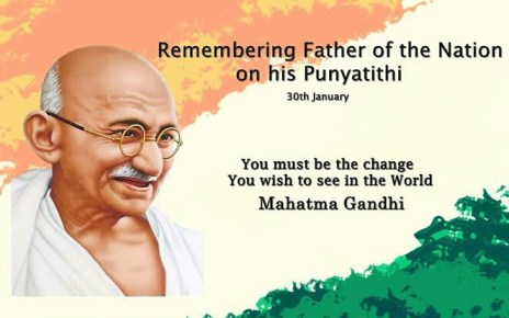 Mahatma Gandhi punyatithi