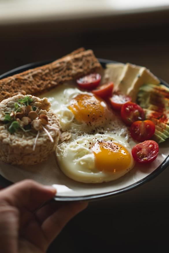 Egg yolk, a good source of vitamin D and an immunity boosting food