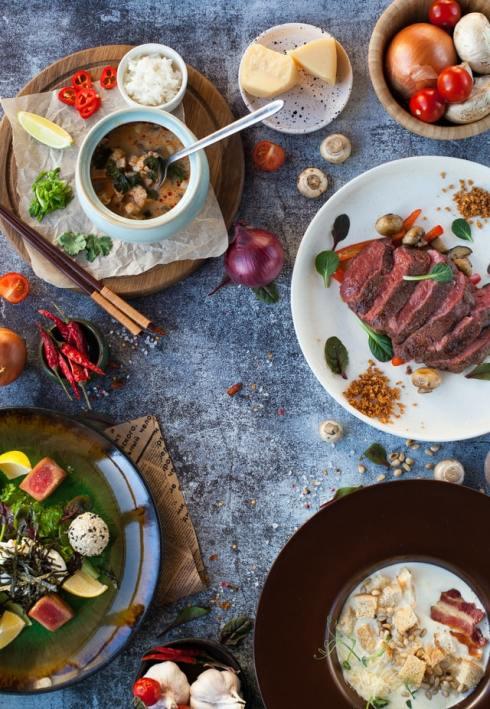 Health food on the table