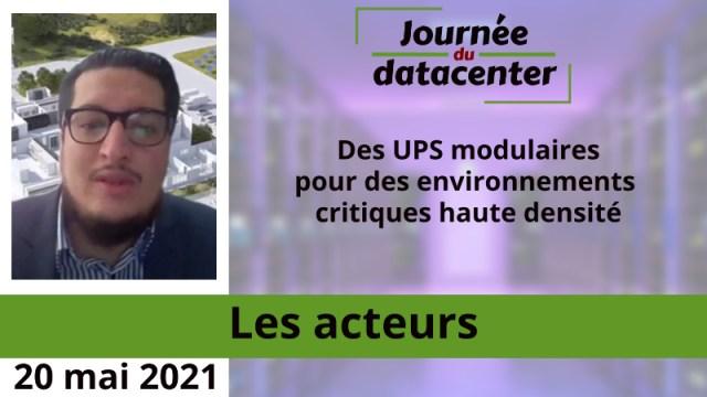 Des UPS modulaires pour des environnements critiques haute densité
