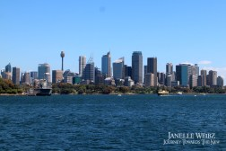 Sydney, seen from the sea!