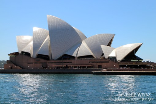 Sydney Opera House from the side!