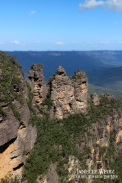 The Three Sisters, an iconic Australian view.