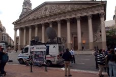AP got the prime spot infront of The Metropolitan Cathedral