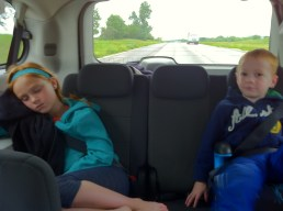 Van ride with the Fahey's to Chicago!