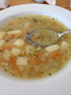 one of many soup varieties