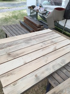 planing and sanding