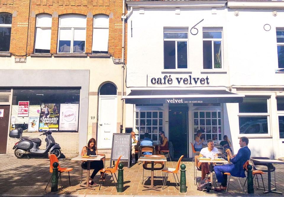 Cafe Velvet, Brussels