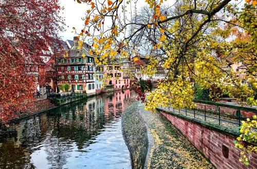 Canals of Petite France