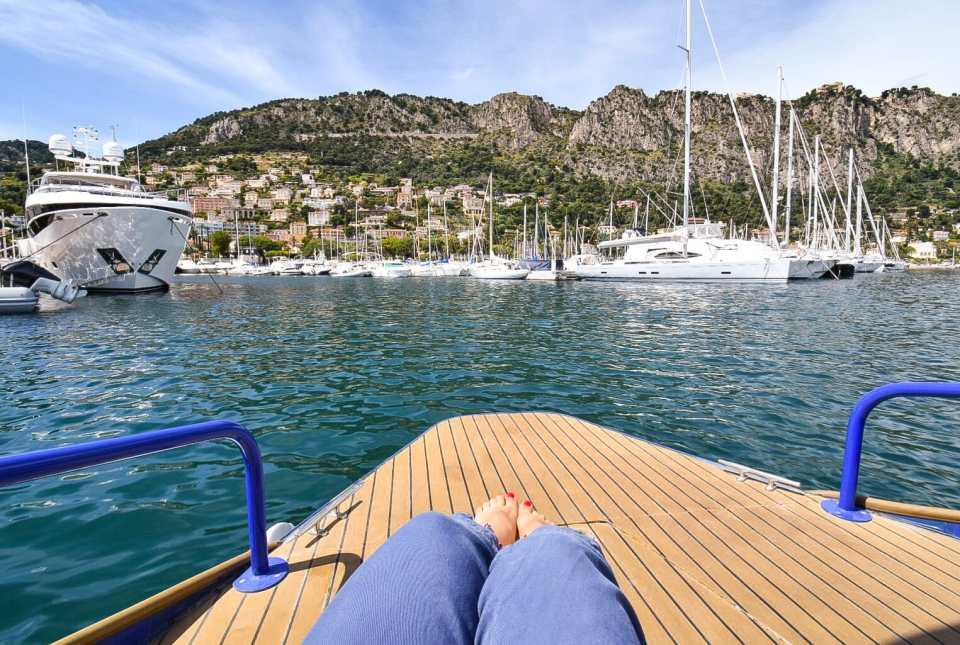 French Riviera Boat