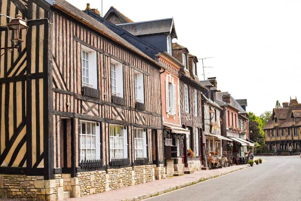 Beuvron-en-Auge, Normandy, France