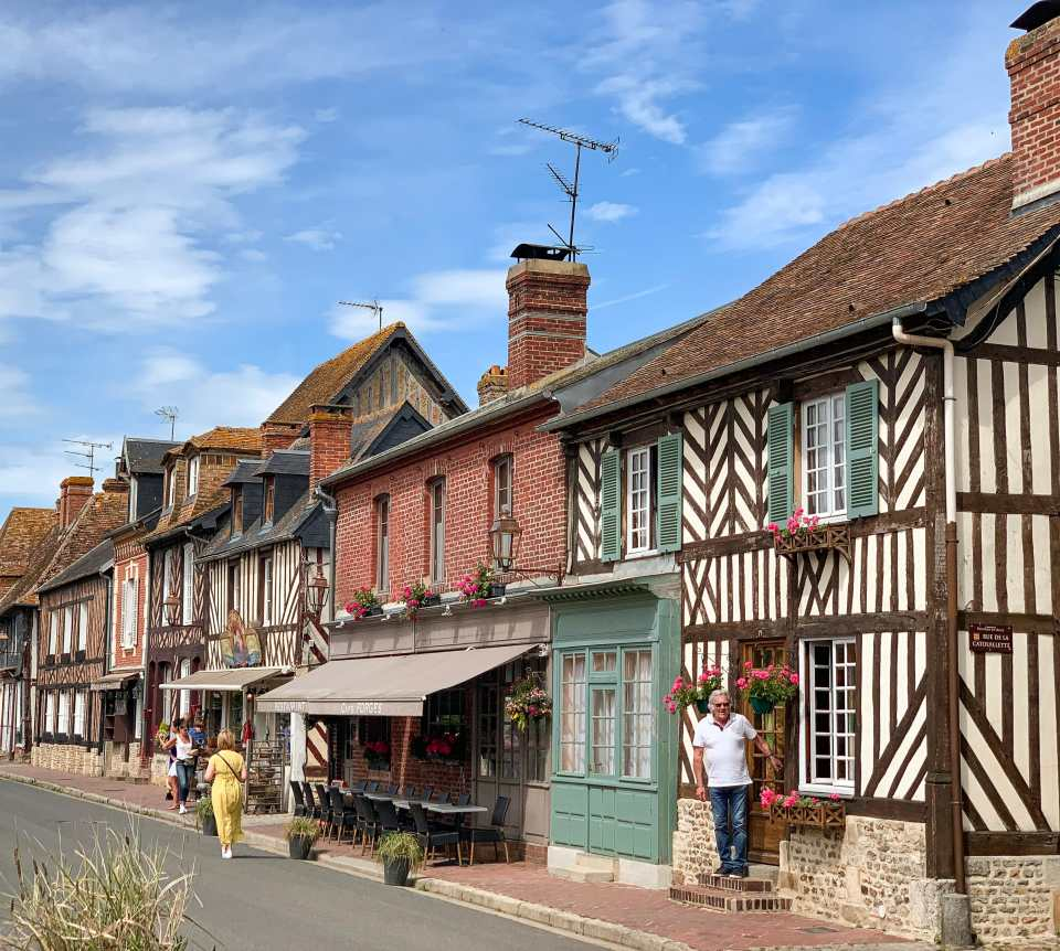 Beuvron-en-Auge-Normandy-France