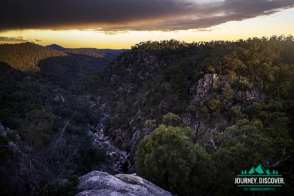 Valley Of The Diamonds, Koonin Lookout, Crows Nest National Park, Toowoomba