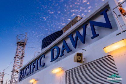 Pacific Dawn Sign