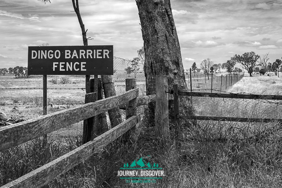 Start Of The Dingo Barrier Fence