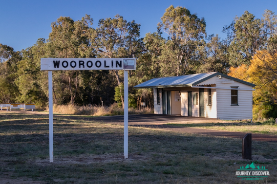 Historic Trail Station, Wooroolin