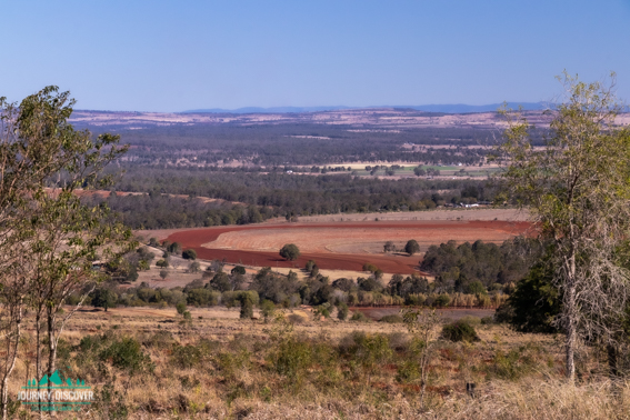 View From In Front f Jack Smiths Scrub Conservation Park