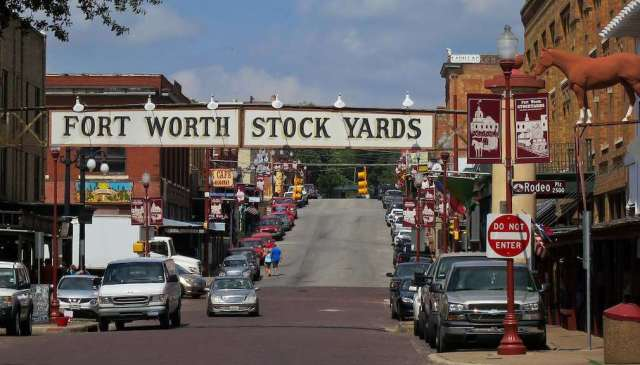 Fort Worth Cattle Pens