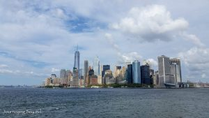 Approaching Manhatten on the Staten Island Ferry