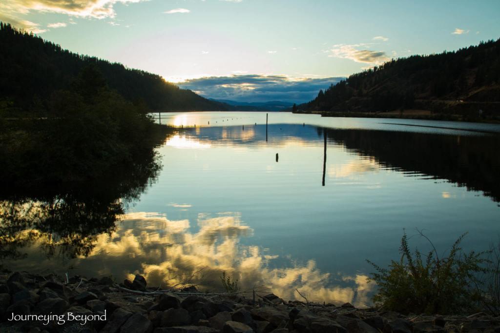 Lake Coeur D'Alene Sunset