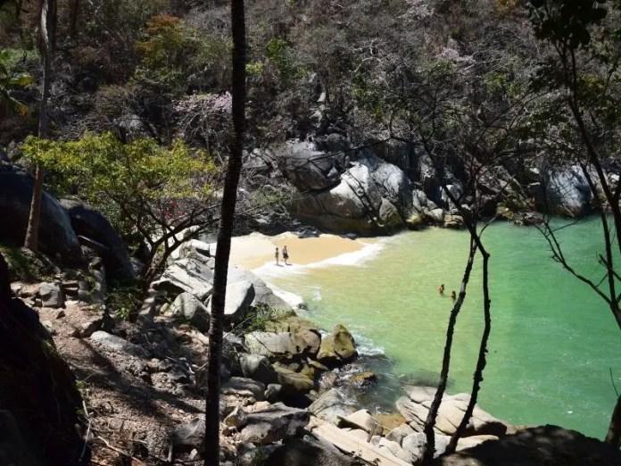 Beaches near Pv
