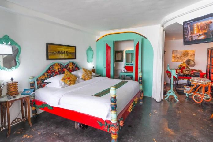 The Cartagena bedroom