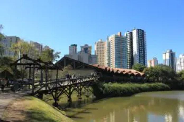 Green spaces Curitiba