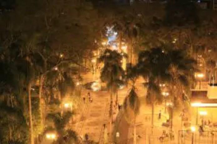 Curitiba at night