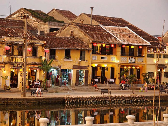 The old town of Hoi An, Vietnam