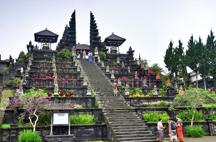 The Pura Besakih is the oldest and most sacred Hindu Temple in Bali