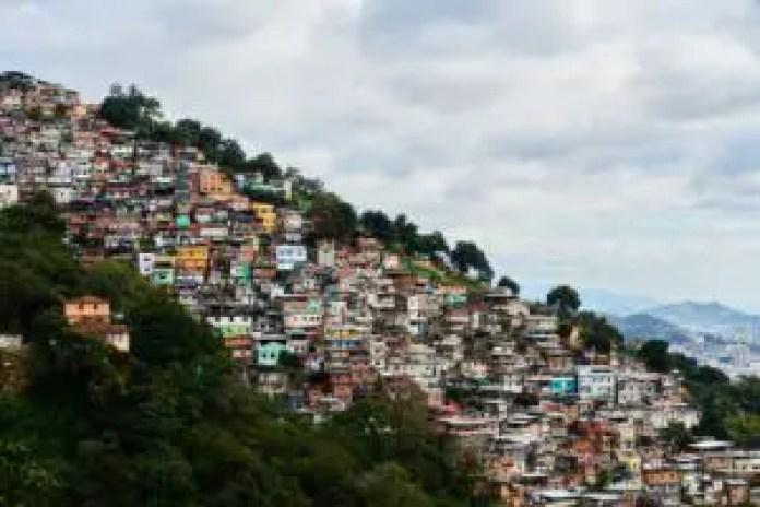 Rio slum neighborhood
