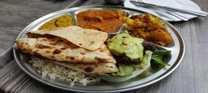 Plate of Indian Food. Image Credit: Pixabay