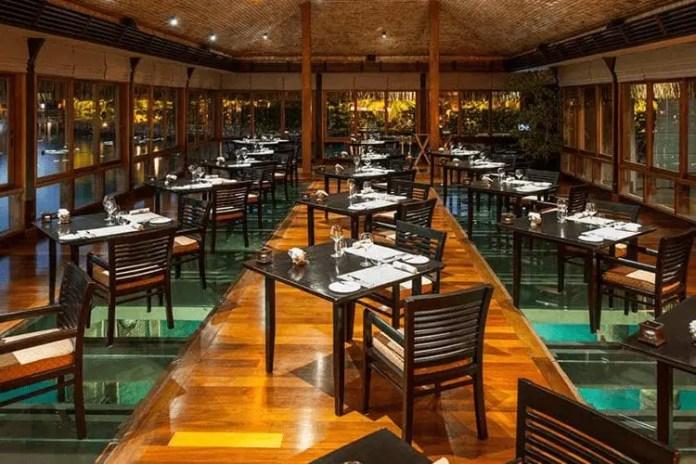 The Lagoon restaurant in Bora Bora