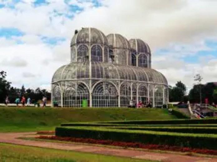 Botanical Garden in Curitiba Brail