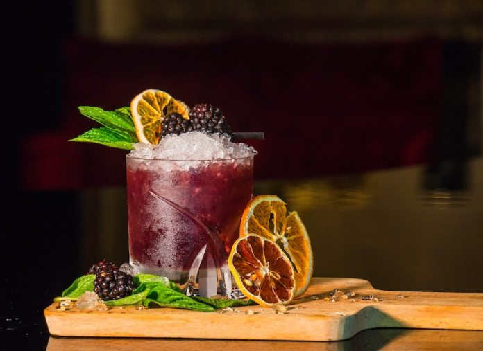 cocktail in tulum