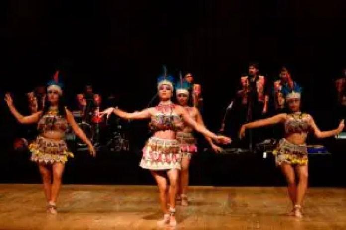 traditional Brazilian dance show