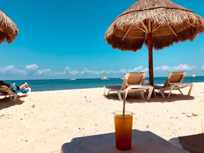 mexico beach bar