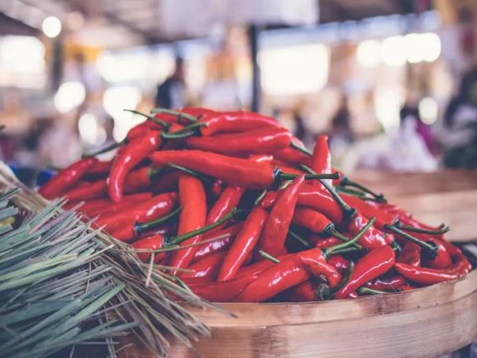 sambal matah is a staple part of balinese food culture