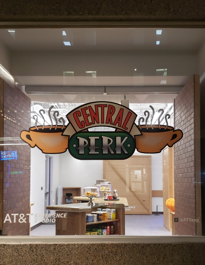 Central Perk Pop-up at the AT&T Experience Store