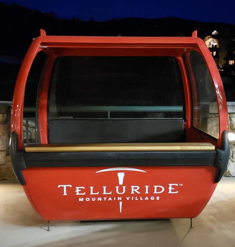 Telluride Gondola cabin