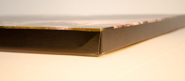 Example of the black edge wrap