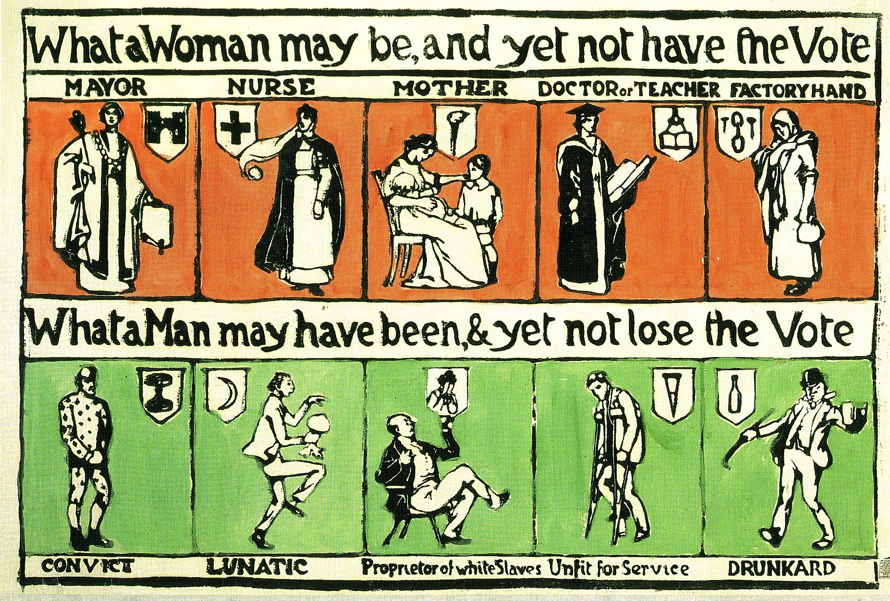 womens suffrage glog text images music video