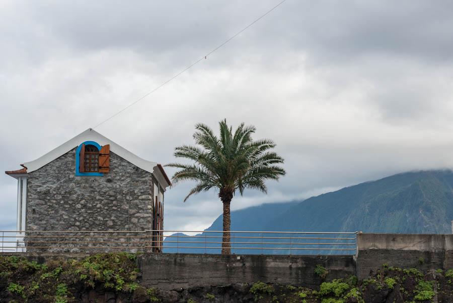 The black sands of Seixal, Madeira