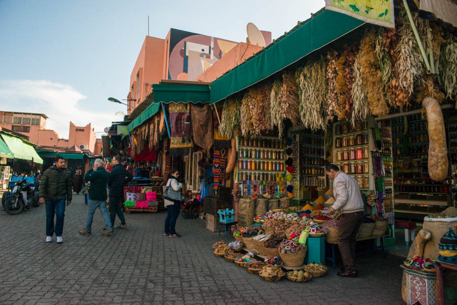 How to survive Marrakech's Medina. Morocco