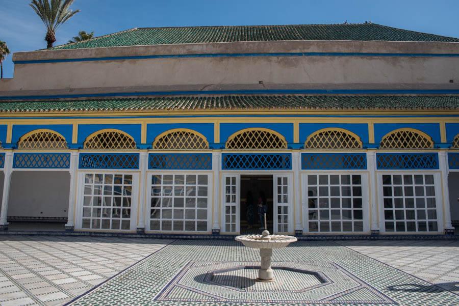 A photo tour around the palace of Bahia, Marrakech